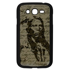 Indian Chief Samsung Galaxy Grand Duos I9082 Case (black) by Valentinaart