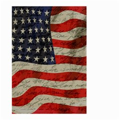Vintage American Flag Small Garden Flag (two Sides) by Valentinaart