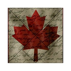 Canada Flag Acrylic Tangram Puzzle (6  X 6 ) by Valentinaart
