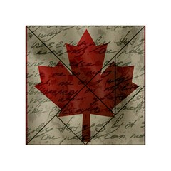 Canada Flag Acrylic Tangram Puzzle (4  X 4 ) by Valentinaart