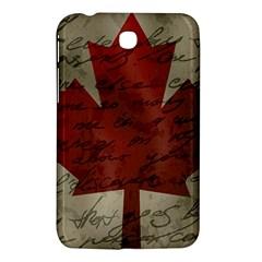 Canada Flag Samsung Galaxy Tab 3 (7 ) P3200 Hardshell Case  by Valentinaart