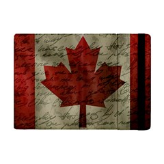 Canada Flag Ipad Mini 2 Flip Cases by Valentinaart
