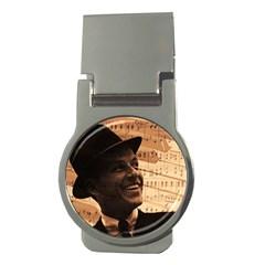 Frank Sinatra  Money Clips (Round)  by Valentinaart