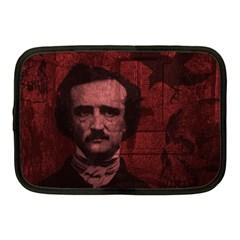 Edgar Allan Poe  Netbook Case (Medium)  by Valentinaart