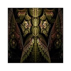 Fractal Abstract Patterns Gold Acrylic Tangram Puzzle (6  X 6 ) by Simbadda