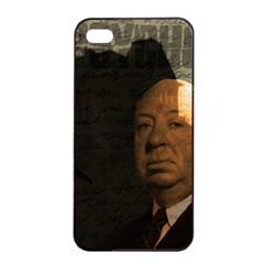 Alfred Hitchcock   Psycho  Apple Iphone 4/4s Seamless Case (black) by Valentinaart