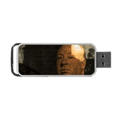 Alfred Hitchcock   Psycho  Portable Usb Flash (two Sides) by Valentinaart
