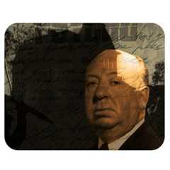 Alfred Hitchcock   Psycho  Double Sided Flano Blanket (medium)  by Valentinaart