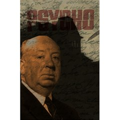 Alfred Hitchcock   Psycho  5 5  X 8 5  Notebooks by Valentinaart