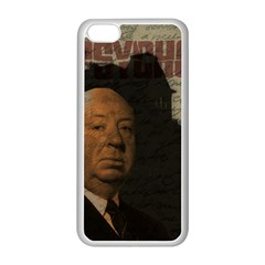 Alfred Hitchcock   Psycho  Apple Iphone 5c Seamless Case (white) by Valentinaart