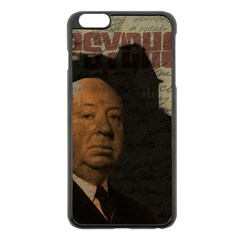 Alfred Hitchcock   Psycho  Apple Iphone 6 Plus/6s Plus Black Enamel Case by Valentinaart