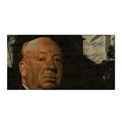 Alfred Hitchcock   Psycho  Satin Wrap by Valentinaart