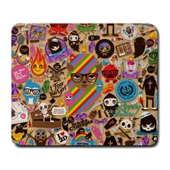Background Images Colorful Bright Large Mousepads by Simbadda