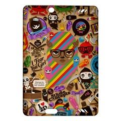 Background Images Colorful Bright Amazon Kindle Fire Hd (2013) Hardshell Case by Simbadda