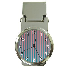 Hald Simulate Tritanope Color Vision With Color Lookup Tables Money Clip Watches by Simbadda