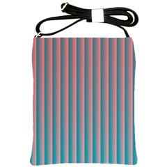 Hald Simulate Tritanope Color Vision With Color Lookup Tables Shoulder Sling Bags by Simbadda