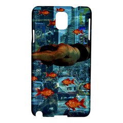 Urban Swimmers   Samsung Galaxy Note 3 N9005 Hardshell Case by Valentinaart