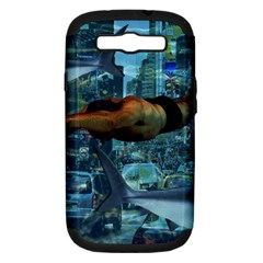 Urban Swimmers   Samsung Galaxy S Iii Hardshell Case (pc+silicone) by Valentinaart