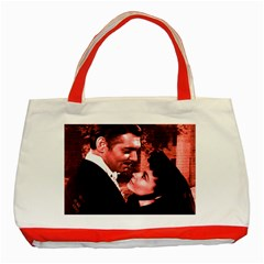 Gone With The Wind Classic Tote Bag (red) by Valentinaart
