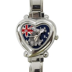 Australia  Heart Italian Charm Watch