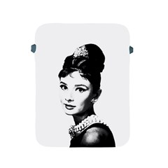 Audrey Hepburn Apple Ipad 2/3/4 Protective Soft Cases by Valentinaart