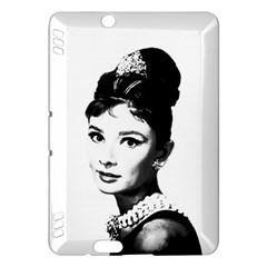 Audrey Hepburn Kindle Fire HDX Hardshell Case by Valentinaart