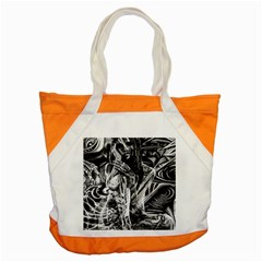 Gray Girl  Accent Tote Bag by Valentinaart