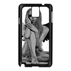 Stone angel Samsung Galaxy Note 3 N9005 Case (Black)