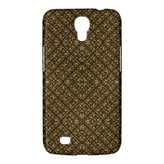 Wooden Ornamented Pattern Samsung Galaxy Mega 6 3  I9200 Hardshell Case by dflcprints