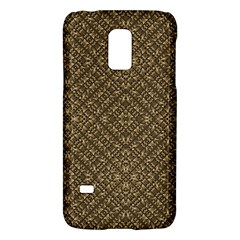 Wooden Ornamented Pattern Galaxy S5 Mini by dflcprints