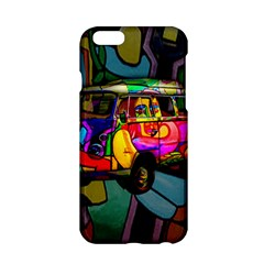 Hippie Van  Apple Iphone 6/6s Hardshell Case by Valentinaart