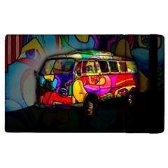 Hippie Van  Apple Ipad 3/4 Flip Case by Valentinaart