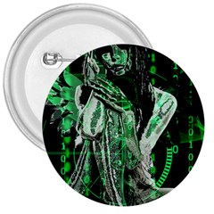Cyber angel 3  Buttons by Valentinaart