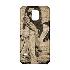 Vintage Angel Samsung Galaxy S5 Hardshell Case  by Valentinaart