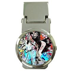 Graffiti Angel Money Clip Watches by Valentinaart