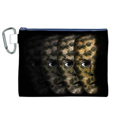 Wild Child Canvas Cosmetic Bag (xl) by Valentinaart