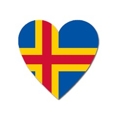 Flag Of Aland Heart Magnet by abbeyz71