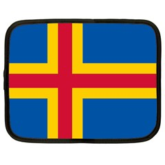 Flag Of Aland Netbook Case (large) by abbeyz71
