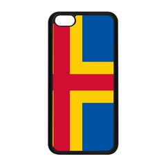 Flag Of Aland Apple Iphone 5c Seamless Case (black) by abbeyz71