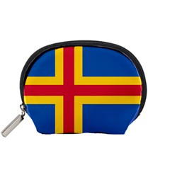 Flag Of Aland Accessory Pouches (small)  by abbeyz71