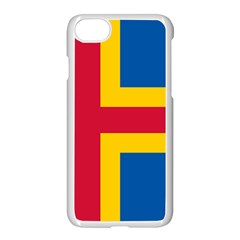 Flag Of Aland Apple Iphone 7 Seamless Case (white) by abbeyz71