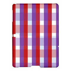 Gingham Pattern Checkered Violet Samsung Galaxy Tab S (10 5 ) Hardshell Case