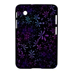 Retro Flower Pattern Design Batik Samsung Galaxy Tab 2 (7 ) P3100 Hardshell Case  by Simbadda