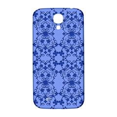 Floral Ornament Baby Boy Design Retro Pattern Samsung Galaxy S4 I9500/i9505  Hardshell Back Case by Simbadda
