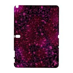Retro Flower Pattern Design Batik Galaxy Note 1