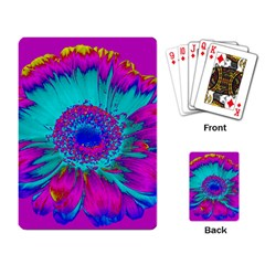 Retro Colorful Decoration Texture Playing Card
