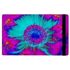 Retro Colorful Decoration Texture Apple Ipad 2 Flip Case by Simbadda