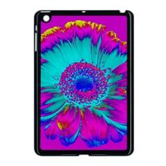 Retro Colorful Decoration Texture Apple Ipad Mini Case (black) by Simbadda