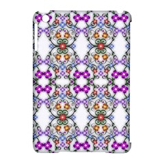 Floral Ornament Baby Girl Design Apple Ipad Mini Hardshell Case (compatible With Smart Cover) by Simbadda