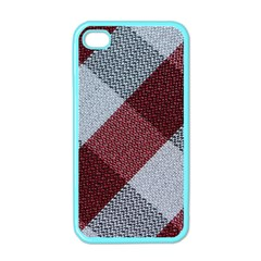 Textile Geometric Retro Pattern Apple iPhone 4 Case (Color)